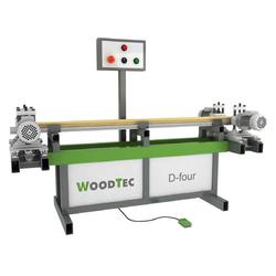 WoodTec D-Four специальный сверлильно-присадочный станок с торцовкой Woodtec Станки Сверлильно-присадочные
