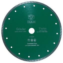 DIAM Turbo Grinder 000127 алмазный круг для гранита 230*2,5*7,5*М14 с фланцем Diam По граниту Алмазные диски