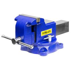 """Тиски слесарные STALEX """"Гризли"""", 125 х 125 мм., 360°, 12,5 кг. Stalex Тиски слесарные Инструмент и оснастка"""