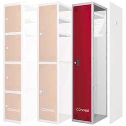 Сорокин 24.1 Металлический шкаф одёжный односекционный Сорокин Мебель металлическая Сервисное оборудование
