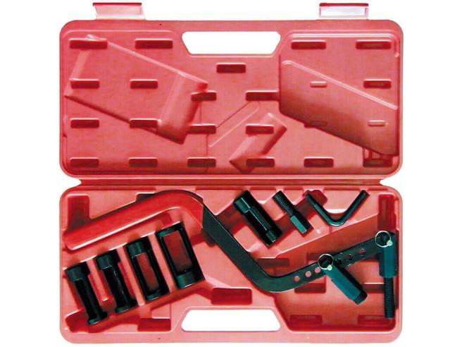 Набор универсальный для зажима клапанных пружин 40.42 (8 предметов) Сорокин Ручной Инструмент